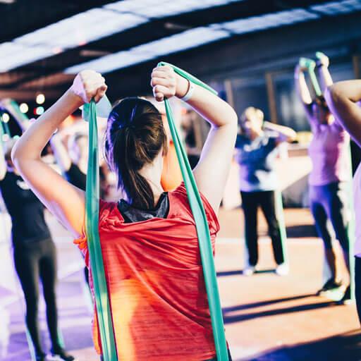 clases dirigidas fitness