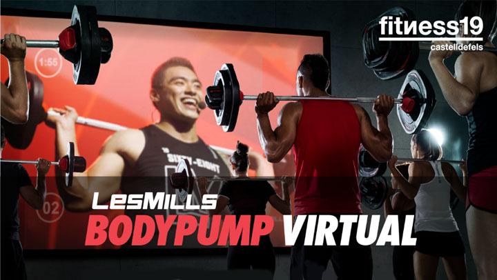 Les mills virtual Gimnasio Castelldefels Fitness19 castelldefels