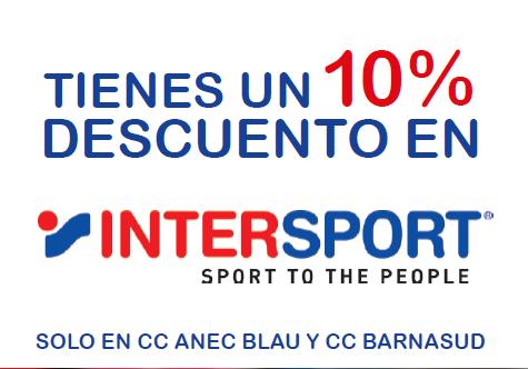 intersport fitness promocion